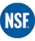 NSF-Registered to ISO 9001